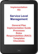 Click here for more details - implement ITIL® 2011 Service Level Management