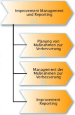 Prozesse des Improvement Management und Reporting