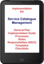 Implement ITIL® 2011 Service Catalogue Management