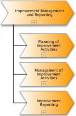 Processes of Improvement Management and Reporting